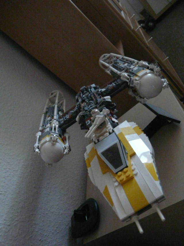 Lego Star Wars Y Wing. Y Wing AT AT
